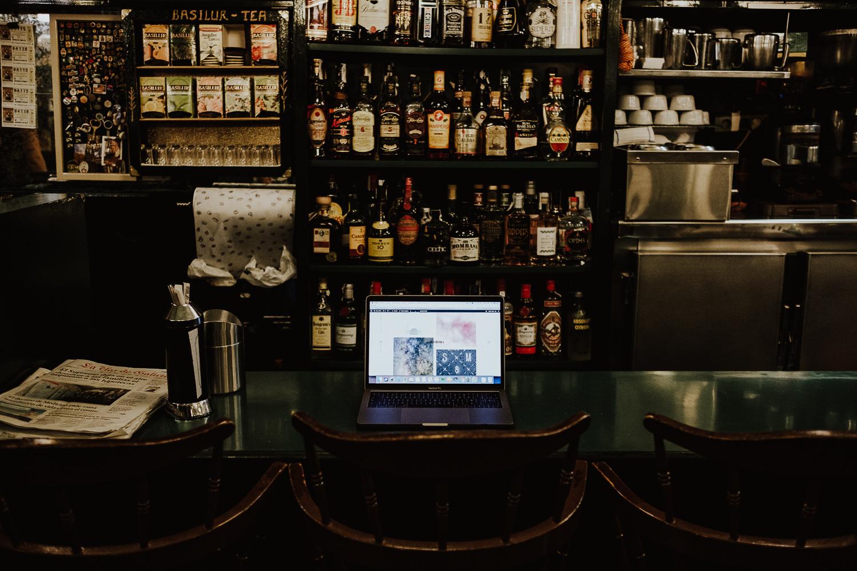Página web de queridiña, vista desde un ordenador